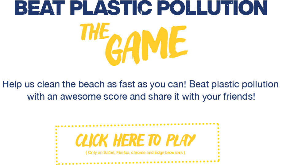 UE Beating Plastic Pollution game